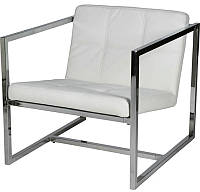 Дизайнерское кресло Нортон цвет белый точная копия Кресла Delano работа дизайнеров из ателье Gus Modern