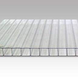 Прозрачный  сотовый поликарбонат 8мм  POLYGAL  м кв, фото 2