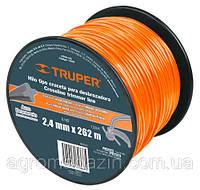 Струна для тримера 2,4мм 262м Truper