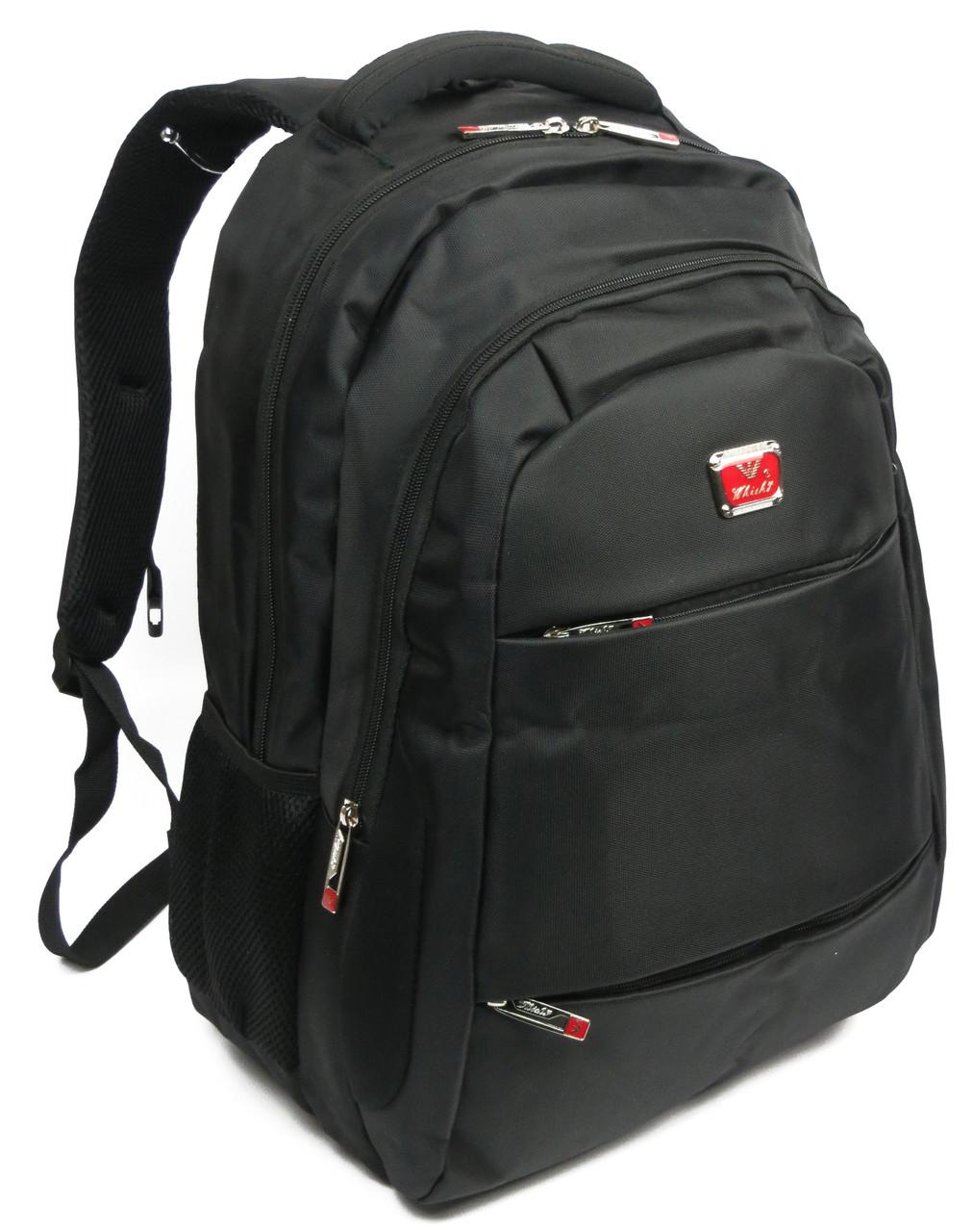 Городской рюкзак с отделом для ноутбука 15,6 Whisky 210031 черный