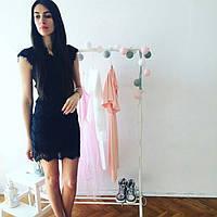 Стильное женское Кружевное платье