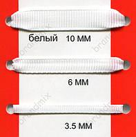 Репсовая лента белая
