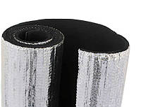 Листовая теплоизоляция. Алюфом R. Каучук с покрытием из алюминиевой фольги, 6 мм