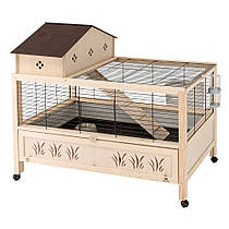 Ferplast Arena 100 Plus Деревянная клетка для кроликов и морских свинок