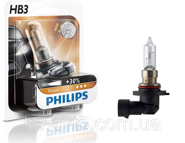 Лампа накливания 9005PR HB3 12V 60W P20d  Blister 1 pc