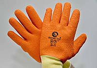 Перчатки оранжевые ( Вспененный полиуретан)