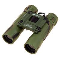 Бинокль туристический Tasko 10 25 (зеленый)