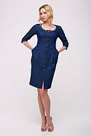 Джинсовое женское синее платье JOCK ТМ Tatiana 46-48 размеры