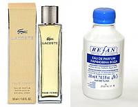 197, Наливная парфюмерия женская  Рефан №197 альтернатива LACOSTE POUR FEMME / LACOSTE