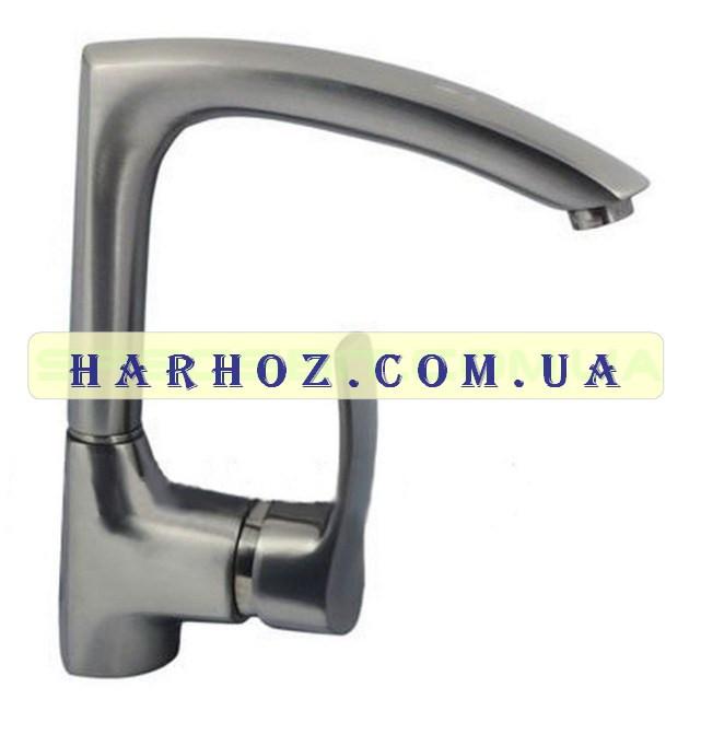 Смеситель для кухни Haiba (Хайба) Focus stainless steel U-018