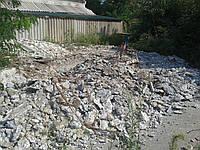 Демонтаж бетона, фундаментов