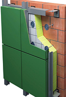 Композитная панель  Aluten 1,25*5,8 4 мм Зеленая