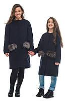 """Демисезонное пальто для девочки """"Керри"""" ТМ MiLiLook"""