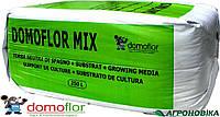 Торф для рассады Домофлор Domoflor Mix3, фракция 0-6 мм, 250 л. Премиум качество.