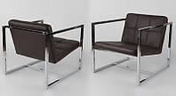 Дизайнерское кресло Нортон цвет черный точная копия Кресла Delano работа дизайнеров из ателье Gus Modern