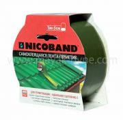 Самоклеющаяся герметизирующая лента Nicoband зеленый 3м*7,5см*1,5мм ТехноНиколь