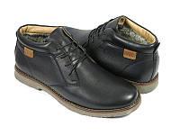 Ботинки мужские Affinity натуральная кожа чёрные AF0005
