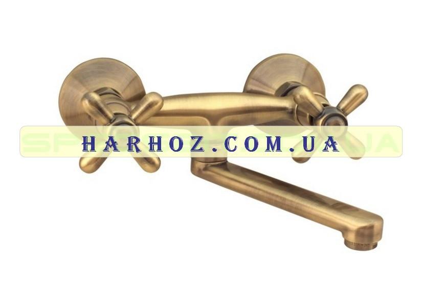 Смеситель для кухни Haiba (Хайба) Dominox bronze 361
