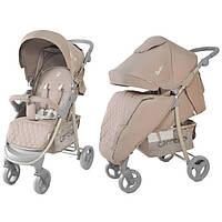 Детская коляска прогулочная Carrello Quattro 8502 Amphora (Карела Кватро), Tilly beige (бежевая), фото 1
