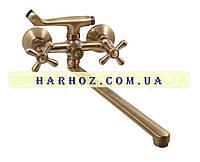 Смеситель для ванны Haiba (Хайба) Dominox bronze 140
