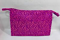 Косметичка женская прямоугольная с карманом, фото 1