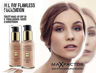 Тональная основа 3 в 1 Max Factor Facefinity All Day Flawless 3 In 1 Foundation SPF 20