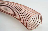 Рукав для аспирации 100 мм полиуретановый (PU) , 0.9 мм, пыль, стружка, дым, воздух, тырса