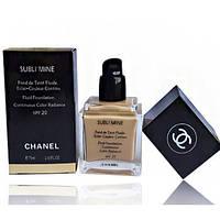 Тональный крем для лица Chanel Sublimine  (Шанель Саблимайн)