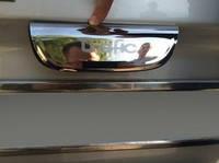 Хром планка на распашные двери на Рено Трафик