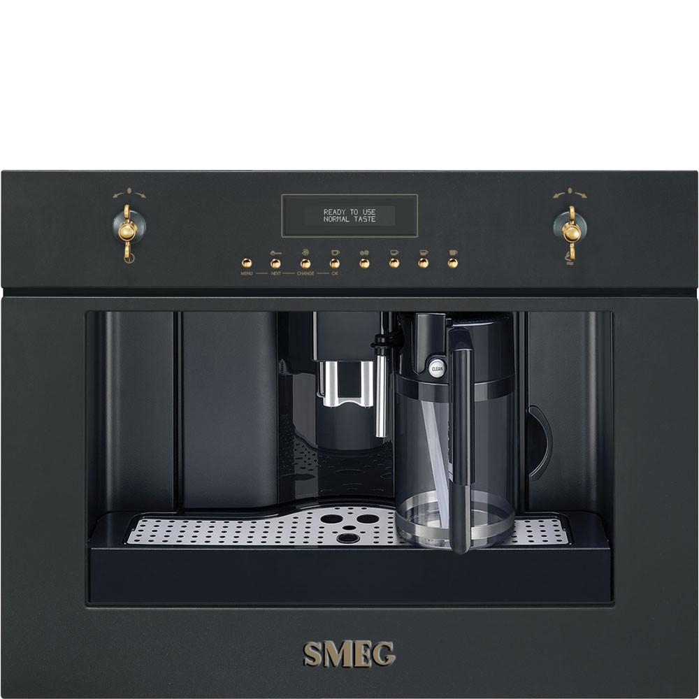 Кофемашина Smeg CMS8451A цвет - антрацит
