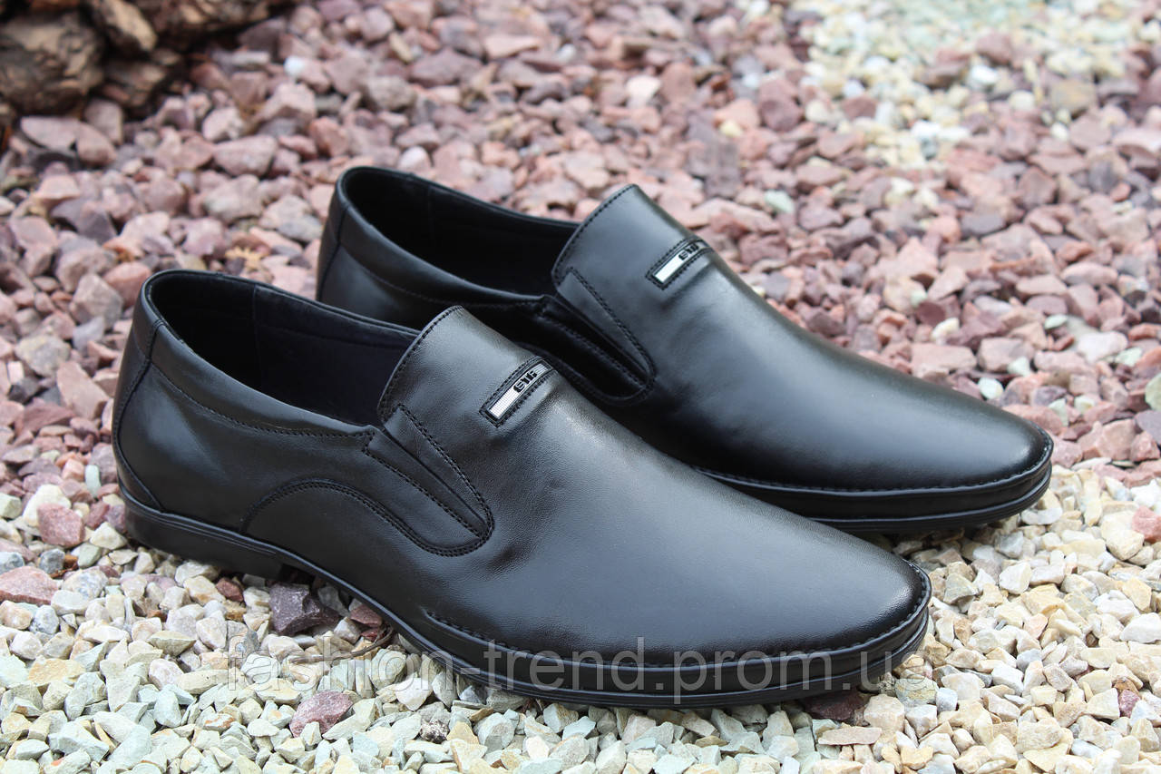 Мужские туфли Strado натуральная кожа, фото 1