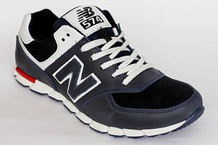 Кроссовки подростковые New Balance синие