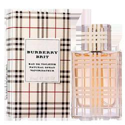 Женская туалетная вода Burberry Brit  (цветочно-фруктовый аромат)