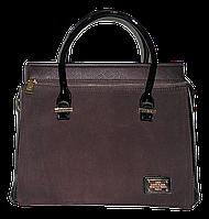 Прямоугольная женская сумочка Diary Klava темно коричневого цвета KCA-901122