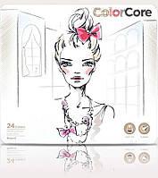 Цветные карандаши Marco 24 цвета ColoCore в металлической коробке 3130-24 TN