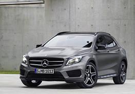 Диски и шины на Mercedes Benz GLA-Class X 156