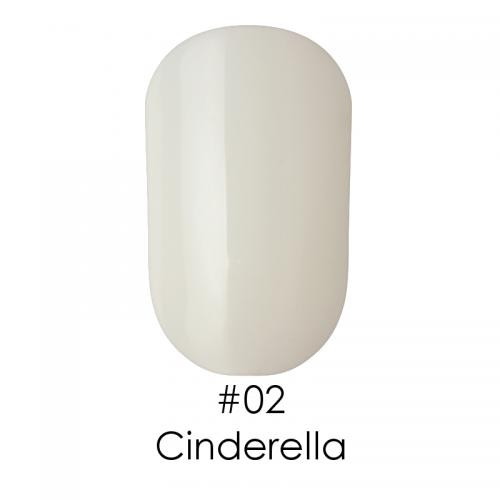 Гель лак для ногтей Naomi №002 молочный белый, 6 мл