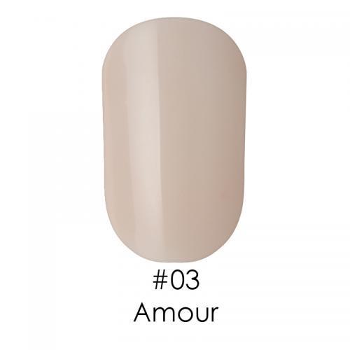 Гель лак для ногтей Naomi №003 персиковый полупрозрачный, 6 мл