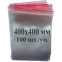 Пакет с застёжкой Zip lock 400*400 мм, фото 1