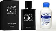 417, Мужская парфюмированная вода Рефан № 417  Альтернатива AQUA DI GIO PROFUMO/ ARMANI