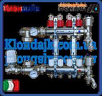 Bonomi Коллектор для теплого пола в сборе на 4 контура (Италия)