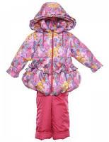 """Демисезонный костюм для девочки """"Розовое галактика"""""""