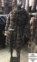 Шикарная шубка из дорого меха баргузинского соболя с аукциона Милана под пояс, в наличии 44,46,48 размеры