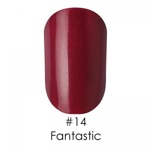 Гель лак для ногтей Naomi №014 бордовый с шимерами, 6 мл