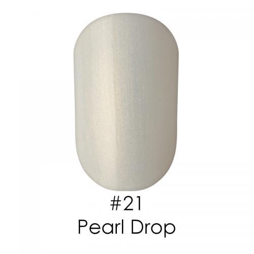 Гель лак для ногтей Naomi №021 прозрачно-молочный с отливающими золотом блестками, 6 мл