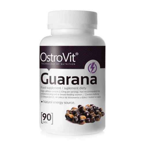 Предтрен Guarana Ostrovit (90 tab)