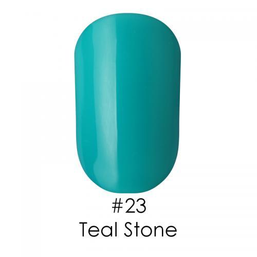 Гель лак для ногтей Naomi №023 бирюзовый, 6 мл