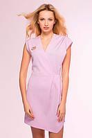 Сиреневое женское платье HIT ТМ Tatiana 44-48 размеры
