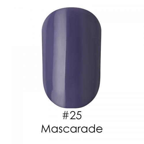 Гель лак для ногтей Naomi №025 светло-синий сланец с серым оттенком, 6 мл