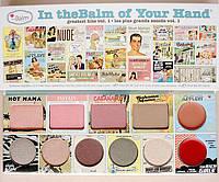 Палетка для макияжа лица theBalm of Your Hand Зе Балм